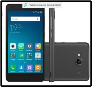 """[Submarino] Smartphone Xiaomi Redmi 2 Dual Chip Desbloqueado Android 4.4 Tela 4.7"""" 8GB 4G Wi-Fi Câmera de 8MP por R$ 474"""