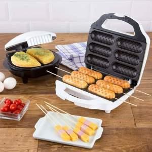 [Shoptime] Máquina de Crepe + Omeleteira Fun Kitchen Branca 110V com 2 Anos de Garantia - R$130