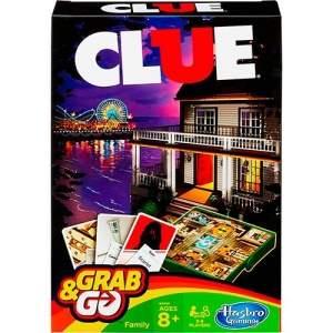 [Americanas] Jogo Clue Grab&Go Hasbro - R$26,31