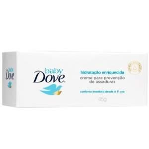 [Drogaria +SP/Pacheco] Creme para Assaduras Dove Baby Hidratação Enriquecida 45g por R$7