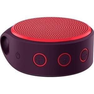 [SHOPTIME] Mini Caixa De Som Wireless X100 Bluetooth Roxo e Vermelho - Logitech - R$113