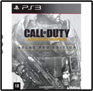 [Saraiva] Call Of Duty - Advanced Warfare - Atlas Pro Edition - PS3  por R$ 90