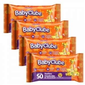 [Panvel]  Leve 4 pague 3 - Kit Toalhas Umedecidas Panvel Baby Clube 50 unidades - por R$21