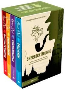 [Saraiva] Box Sherlock Holmes, Edição Zahar - R$48