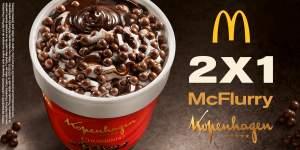 [Mc Donalds] Comprei 1 Mc Flurry Chumbinho e leve 2 - Pegue Cupom
