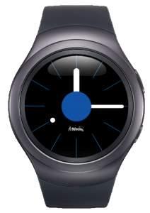"[Saraiva] Smartwatch Samsung Gear S2 Sport Cinza Tizen Tela 1.2"" Bluetooth 4gb"