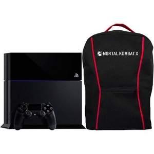 [AMERICANAS] Console PS4 500GB + Mochila Mortal Kombat X + 1 Controle Dualshock 4 (Fabricado no Brasil com 1 ano de garantia) - Sony - R$1760