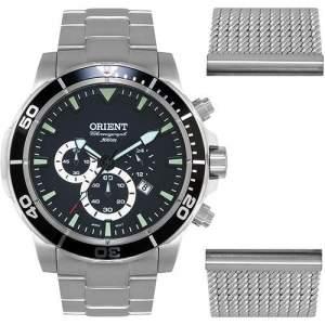 [AMERICANAS] Relógio Masculino Orient Analógico Esportivo MBSSC109 P1SX - R$351