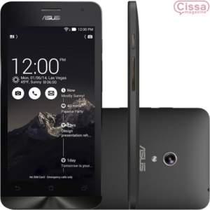 """[CISSA MAGAZINE] Smartphone Asus Zenfone 5 16GB 1.6 GHz A501 Desbloqueado Preto Android 4.3, Memória Interna 16GB, Câmera 8MP, Tela 5"""" - R$800"""