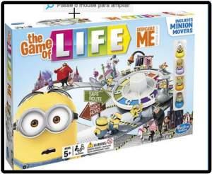[Submarino] Jogo Game Of Life Meu Malvado Favorito - Hasbro por R$ 30