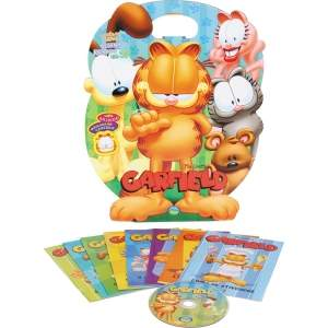 [Casa&Video] Kit 8 Livros Infantis+CD Garfield por R$ 5