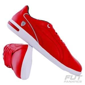 [FUTFANATICS] Tênis Puma Scuderia Ferrari Primo 10 - em couro - R$140
