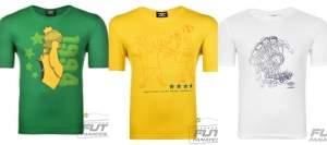 [Fut Fanatics] Camisetas Umbro vários tamanhos - R$11,65