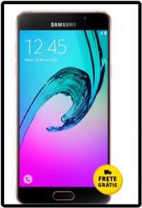 """[Saraiva] Smartphone Samsung Galaxy A5 Duos Dual Chip Rosê 4G Tela 5.2"""" Android 5.1 Câmera 13Mp 16Gb  por R$ 1319"""