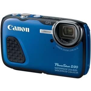 [Zamax] Câmera Canon D30 - Mergulha até 25m - R$1250