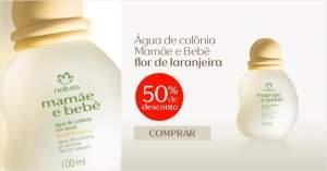 [Natura] Agua de Colônia Flor de Laranjeira Mamãe Bebê Natura -R$ 26