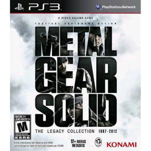 [Americanas] Metal Gear Solid: The Legacy Collection - PS3 por R$ 29.90
