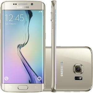 "[Submarino] Samsung Galaxy S6 Edge Dourado Desbloqueado 32GB 4G Android 5.0 Tela 5.1"" Octa-Core Câmera 16MP por R$ 1899"