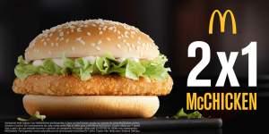 [MC DONALDS] Mc Chicken - Compre um ganhe outro