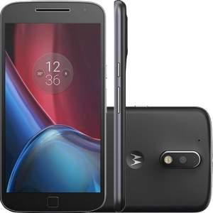 [AMERICANAS] Smartphone Moto G 4 Plus Dual Chip Android 6.0 Tela 5.5'' 32GB Câmera 16MP - Preto  - R$1349
