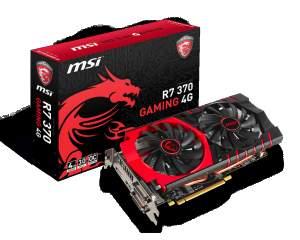 [KABUM] Placa de Video VGA MSI AMD Radeon R7 370 Gaming 4G OC GDDR5 256-Bit PCI Express 3.0 - R$ 879,90