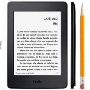 [Clube do Ricardo] Kindle Paperwhite AO0456 com Wi-Fi, 4GB, Iluminação Embutida, Tela 6 de Alta de resolução (300 ppi), Até 8 semanas de Bateria por R$ 379