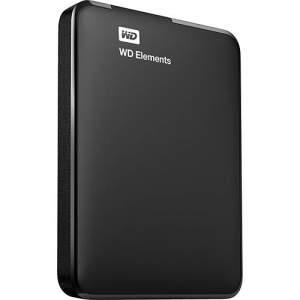 [Submarino] HD Externo Portátil Western Digital Elements 1 TB USB 3.0 - R$245