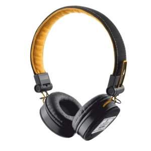 [KABUM] Trust Headphone Urban Revolt Fyber Preto e Laranja 20079 - R$50