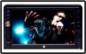 [Kabum] DVD Player Dazz 7´ Bluetooth Double DIN CD/DVD/Rádio AM/FM/ USB/Cartão de Memória SD/Entrada Auxiliar/Saída RCA/Entrada de Câmera de Ré - DZ-651303 por R$ 367