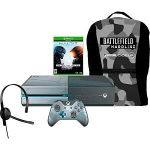 [Americanas] Console Xbox One 1TB + Game Halo 5: Guardians + Mochila Battlefield Hardline por R$ 1700