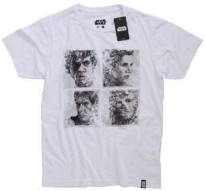 [Saraiva] Camiseta Rebels Face - Tamanho M - R$27