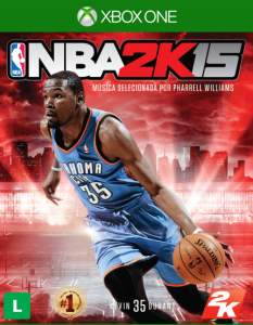 [Saraiva] Jogo NBA 2K15 Xbox One - R$72