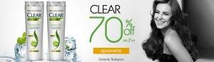 [Lojas Rede] 2 unidades Shampoo Clear 400 ml por R$26