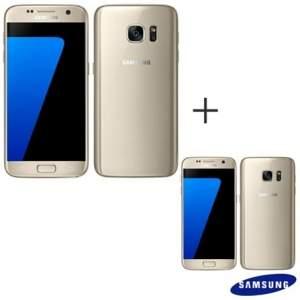 [Fastshop] 02 Smartphones Samsung Galaxy S7 Dourado a vista- R$3.994