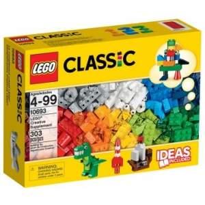 [Clube do Ricardo] 10693 - LEGO Classic - Suplemento Criativo Lego - por R$90