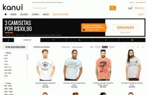 [Kanui] Compre 3 Camisetas por R$99,00