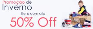 [Be Little] Outlet de Inverno - até 50% off + cupom (5% extra)