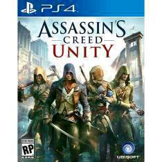 [Americanas](UZ Games) Game Assassin's Creed: Unity - PS4 - R$62