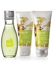 [Natura] Presente Natura Águas Laranjeira em Flor - Desodorante Colônia + Loção Desodorante Hidratante Corporal + Sabonete Líquido - R$ 35