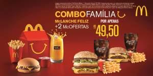 [Mc Donalds] Cupom Combo Família - Julho 2016