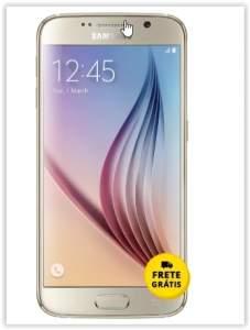 """[Saraiva] Smartphone Samsung Galaxy S6 Dourado 4G Tela 5.1"""" Android 5 Câmera 16Mp 32Gb por R$ 1741"""