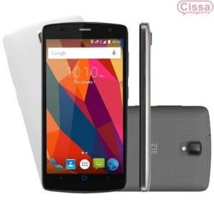 [cissa magazine] Smartphone ZTE Shade L5 Dual Desbloqueado Cinza por R$ 479