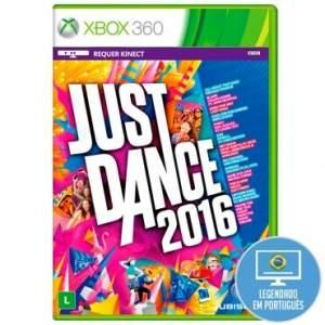 [Ricardo Eletro] Jogo Just Dance 2016 para Xbox 360 (X360) - Ubisoft por R$ 72