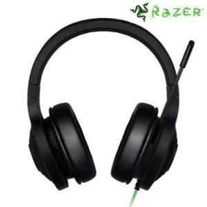 [Ricardo Eletro] Headphone Razer Kraken Essential com Som Surround Virtual 7.1, Cabo Emborrachado de 2m e Conexão USB Banhada à Ouro - R$350