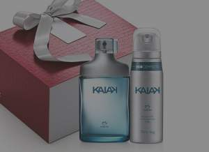 [Natura] Presente Exclusivo Online Natura Kaiak - Desodorante Colônia + Desodorante Aerossol + Embalagem R$ 99,90