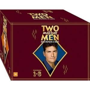 [Submarino] Box DVD Two And a Half Men 1-8 Temporadas (28 Discos) - R$88