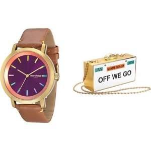 [Shoptime]  Relógio Feminino Mondaine Analógico Fashion - R$79,99