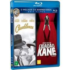 [Americanas] Blu-Ray - Dose Dupla - Casablanca + Cidadão Kane (Duplo) R$9,99