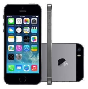 [Submarino] iPhone 5S 16GB Cinza Espacial - R$1.457