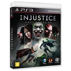 [Extra] Jogo Injustice: Gods Among Us - PS3 por R$ 58